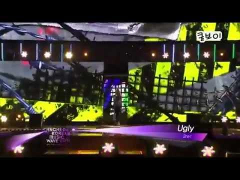 2NE1 - UGLY [2011 Incheon Korean Music Wave HD]