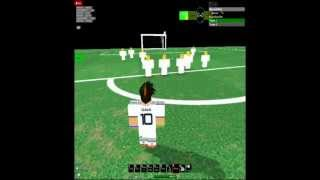 Roblox: Real Madrid 2-1 Chelsea Highlights 24/08/2012