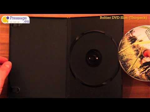 PRESSAGE.EU - Conditionnement : Boîtier DVD Slim (Thinpack-Opaque)