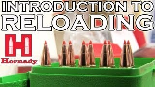 Gambar cover Introduction to Reloading with Hornady