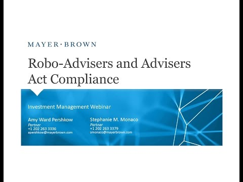 Robo-Advisers and Advisers Act Compliance