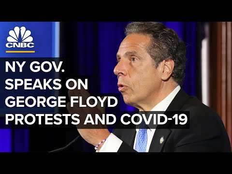 New York Gov. Cuomo speaks on coronavirus and protests over police brutality — 6/3/2020