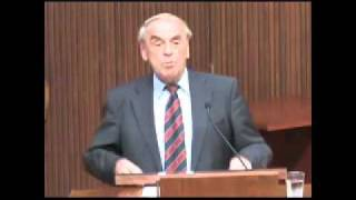 Lecture by Jurgen Moltmann at Emory University