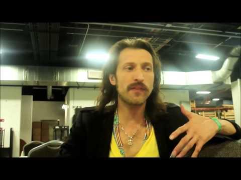Eugene Hütz of Gogol Bordello interview at Riot Fest Denver