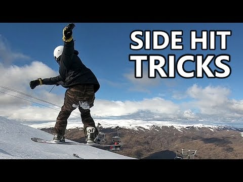 Side Hit Snowboarding Tricks In New Zealand