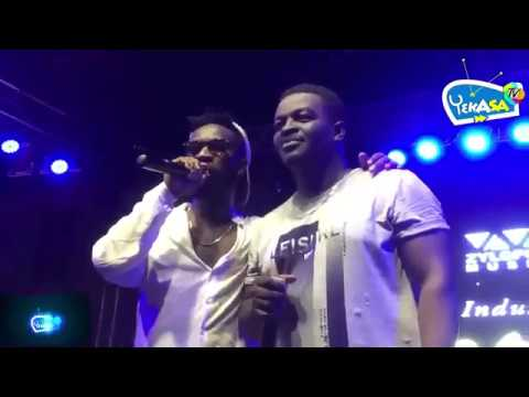 Bisa Kdei features Kumi Guitar, watch their live band performance as Bisa is abort to release his al