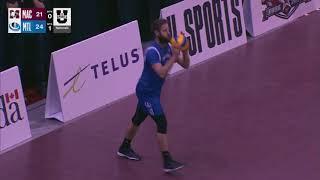 U SPORTS Men's Volleyball -- Quarter Final #3: McMaster vs. Montreal Highlights