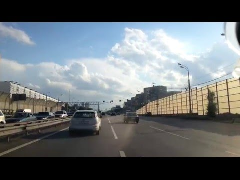 Heavy Friday Weekend Moscow Traffic