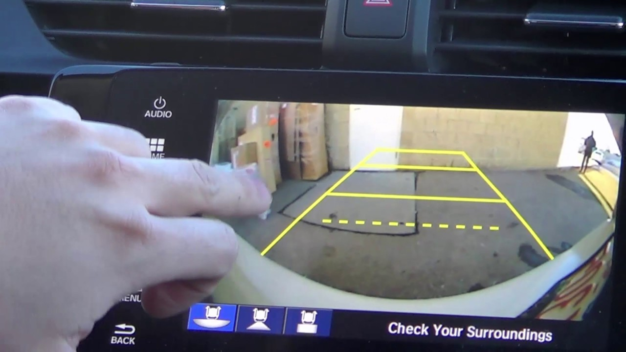 2017 Honda Civic : Backup Camera - YouTube