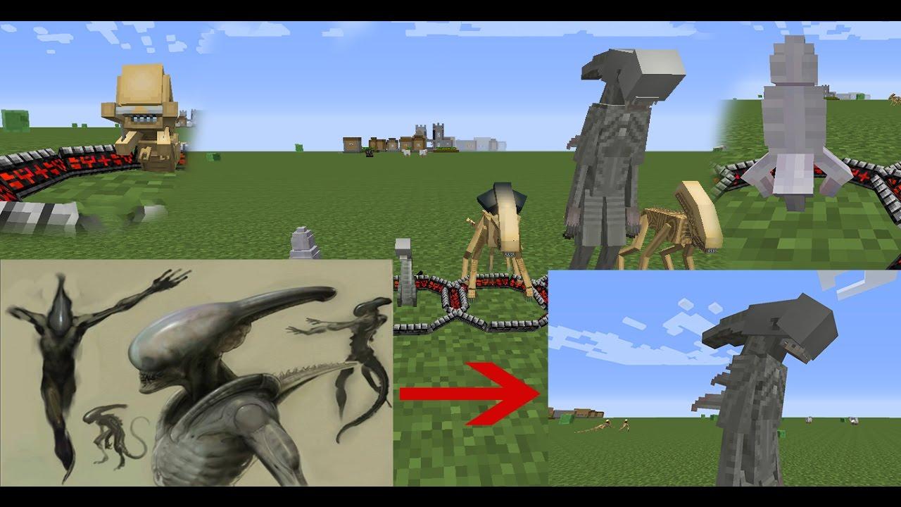 Скачать мод чужой против хищника для minecraft 1.7.10