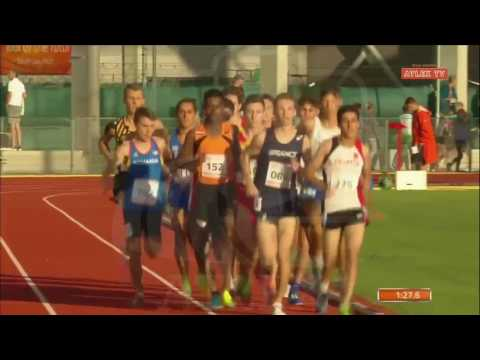 EYOF 2017, Athletics - 1500m