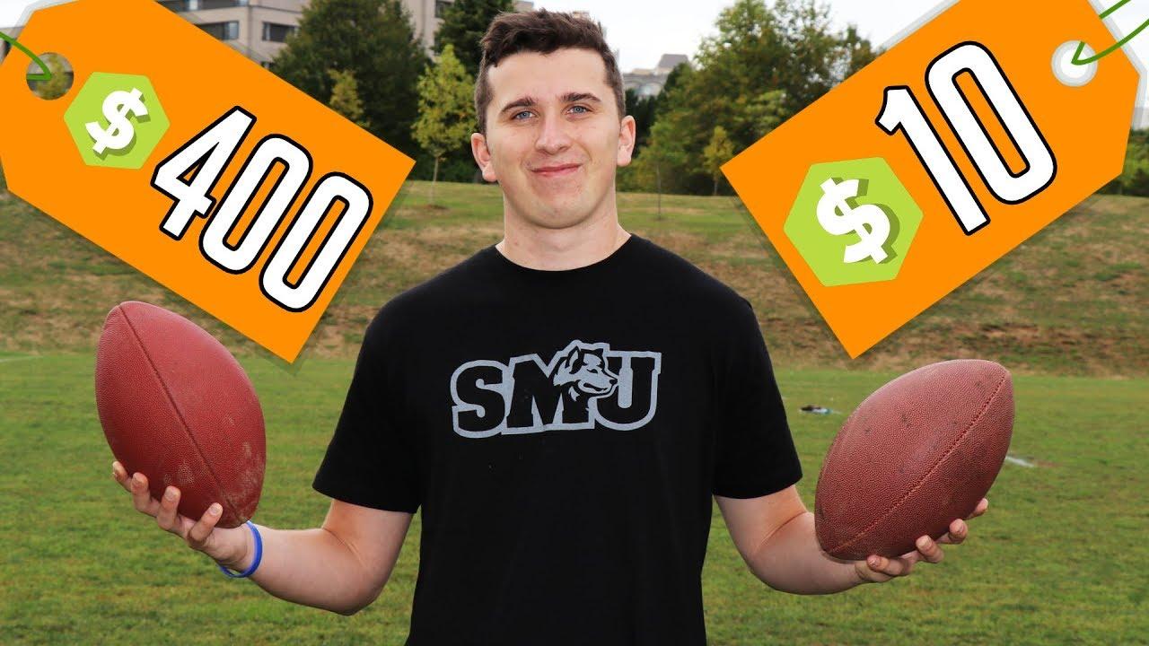 $400 Football VS $10 Football!