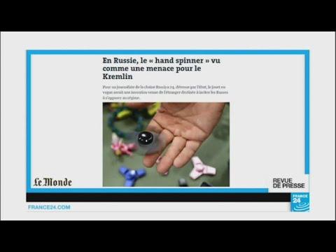 """""""Le 'hand spinner' vu comme une menace"""" en Russie"""
