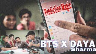 A MAGIC IN FRONT OF DAYA SHARMA ||PREDICTION|| PIN CODE
