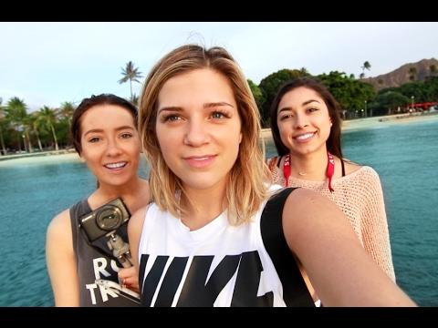 HAWAII Vacation Day 1   Waikiki Beach Day