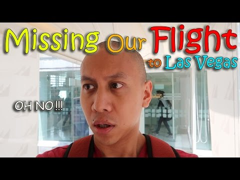 MISSING THE FLIGHT TO LAS VEGAS | March 13th, 2017 | Vlog #53