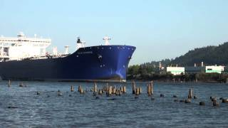 Loud Horn Oil Tanker Polar Enterprise Out: 7-15-14