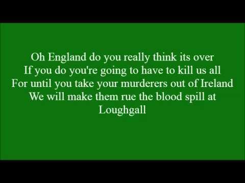 Loughgall Martyrs with lyrics