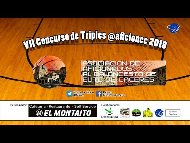 VII Concurso de Triples AficionCC 2018