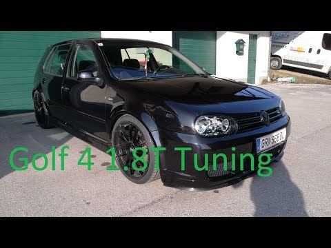 VW Golf 4 1.8T GTI Tuning Story 2013 – 2018