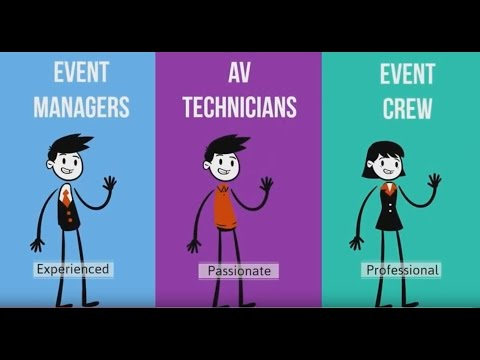 Event Crew, AV Technician, Event Manager: For Successful Events in Singapore - Electric Dreamz