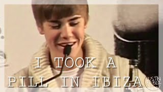 Video Justin Bieber - I Took A Pill In Ibiza (Official Music Video) download MP3, 3GP, MP4, WEBM, AVI, FLV Maret 2018