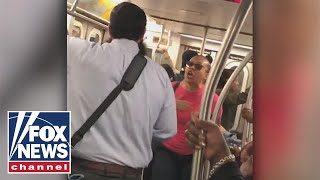 Woman says 'Judaism is not a race' in NYC subway outburst