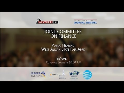 Part 3   Joint Committee on Finance - State Fair Park