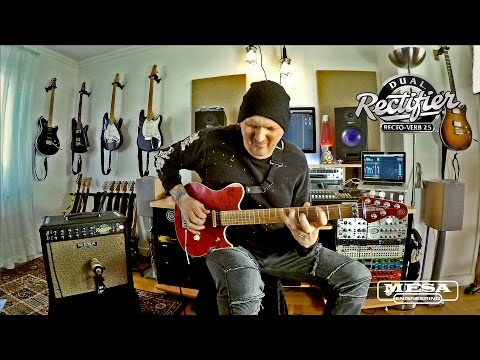 """Tone Sessions: Jamie Humphries – Rectoverb 25 1x12 Combo – """"Ed's Boogie"""""""