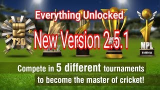 Wcc2 New Version 2.5.1 Apk. Wcc2 Cricket Game Everything Unlock All Feature Latest Version ! 2017
