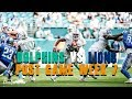 Miami Dolphins Vs Detroit Lions Week 7 Post Game/ Parkers Agent Goes Off!