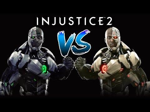 មនុស្សយន្តពិតប៉ះមនុស្សក្លែងក្លាយ - Cyborg VS Grid - Injustice 2 Story Mode Ep07 Khmer|VPROGAME