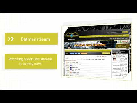 Batmanstream - How To Watch Live Sports