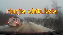 Liikenteessä sattuu ja tapahtuu 0sa 9 (dashcam Finland)