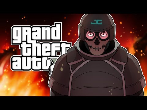GTA 5 NOTHING CAN STOP ME IN THIS ARMOR! (GTA 5 Online DLC)