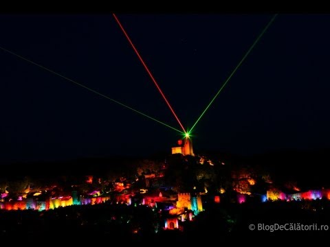 Sound & Light Show - Cetatea Tsarevets - Veliko Tarnovo