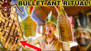 STUNG by 200 BULLET ANTS! *Bullet Ant Glove Ritual*