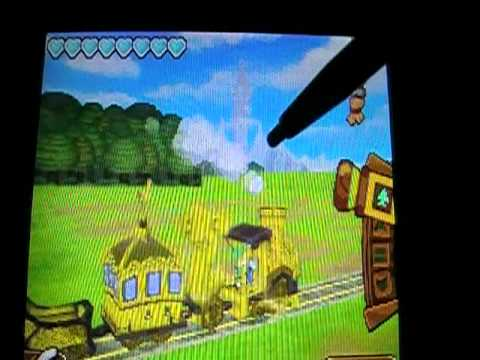 The Legend of Zelda Spirit Tracks Bloopers
