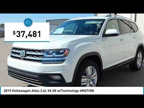 2019 Volkswagen Atlas Edmond Ok, Oklahoma City OK, Norman OK KC549341