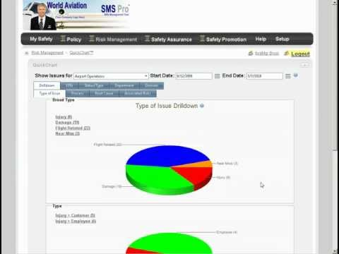 Airline SMS Safety Management Systems Software, SMS Pro Overview - Great Introduction Video