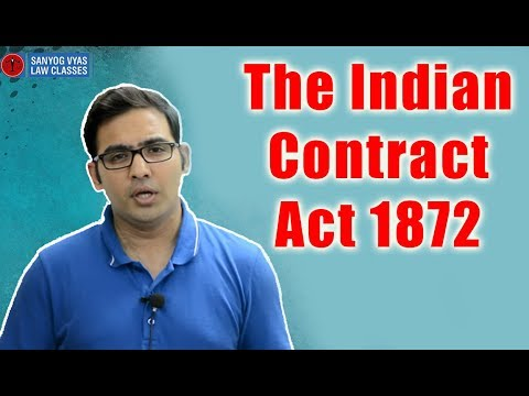 The Indian Contract Act 1872 - Consideration Part 6 By Advocate Sanyog Vyas