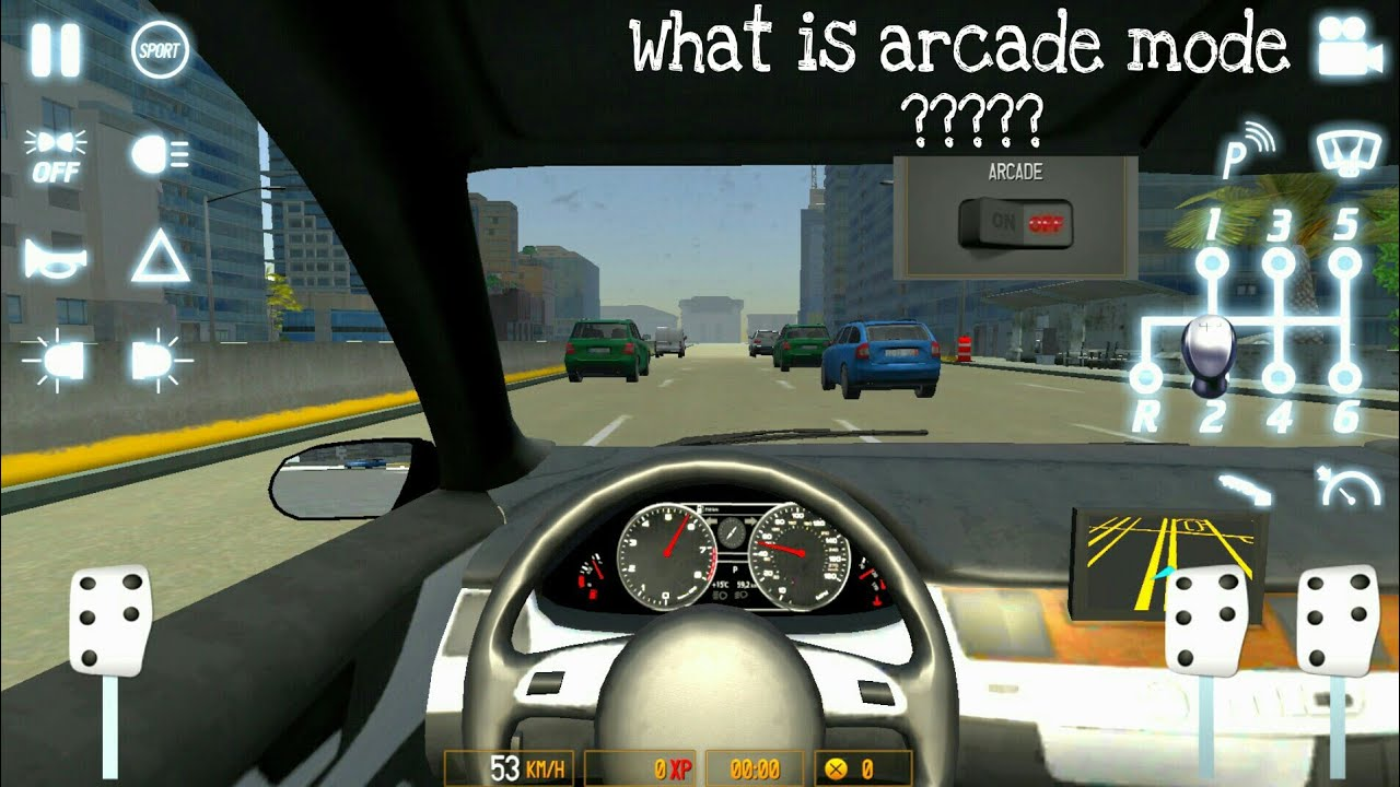 Arcade Driving School >> Driving School 2017 What Is Arcade Mode Youtube