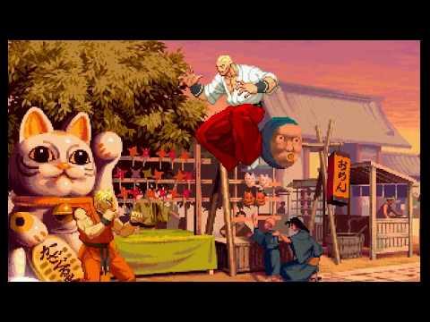 Capcom vs SNK 3 - Geese Howard vs Ryo Sakazaki - 동영상