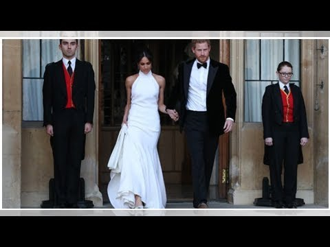 Meghan left behind the tears of the guests at the wedding reception with a lovely gesture || NEWS...
