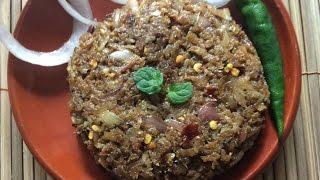 কাচকি শুঁটকি ভর্তা ।। শুঁটকি ভর্তা ।।Keski Shutki vorta Recipe