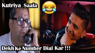 Paresh Rawal Funny Reaction on Guru Randhawa Phone Call | Babu Rao Get a Call From Guru Randhawa |