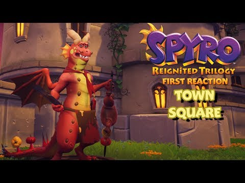 Spyro Reignited Trilogy: Town Square - FIRST REACTION