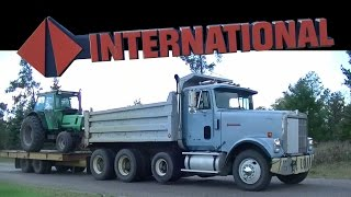 International Dump Truck Hauling Deutz Allis 7085