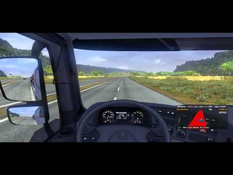 Euro Truck Simuator(Casablanca-Tanger)Map Sim 2.0