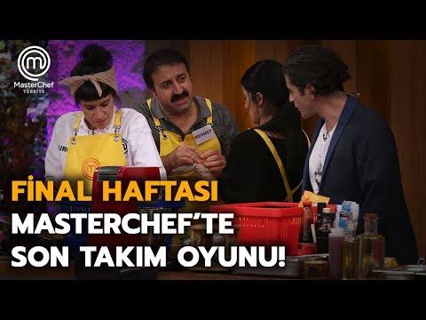 MasterChef'te Son Takım Oyunu | MasterChef Türkiye | Final Haftası